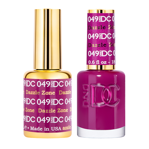 DND DC Duo Gel - #049  DAZZLE ZONE