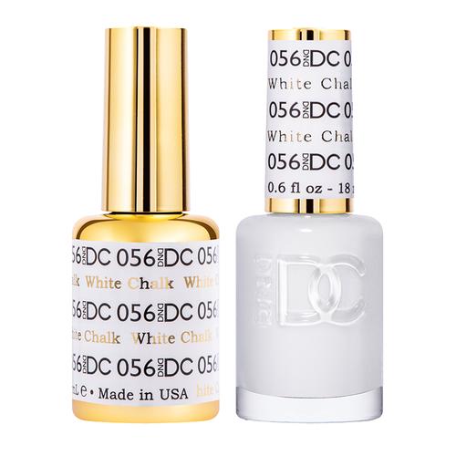 DND DC Duo Gel - #056  WHITE CHALK