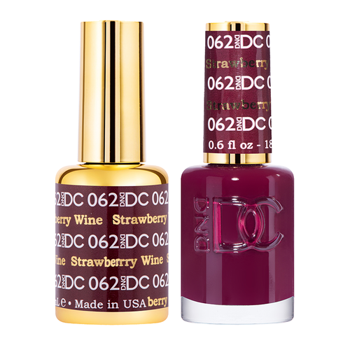 DND DC Duo Gel - #062  STRAWBERRY WINE