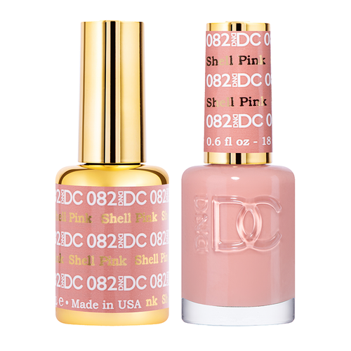 DND DC Duo Gel - #082  SHELL PINK