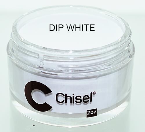 Chisel Acrylic & Dipping 2 oz - Pink & White - DIP WHITE