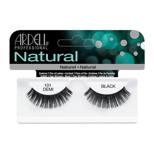 Ardell Fashion Lashes Glamour - 101 Demi Black (#65001)