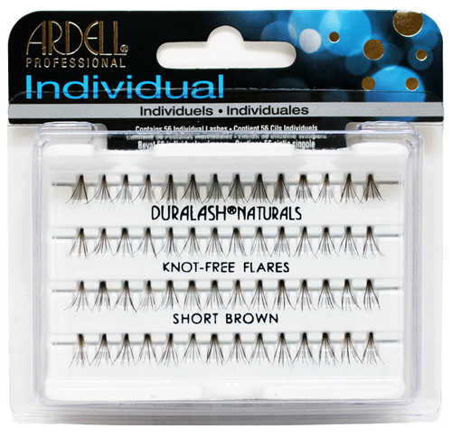 Ardell Duralash Naturals - Knot Free Flares - Short Brown (#65051)
