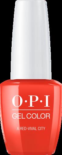 OPI GelColor - #GCL22 - A Red-vival City - Lisbon Collection .5 oz