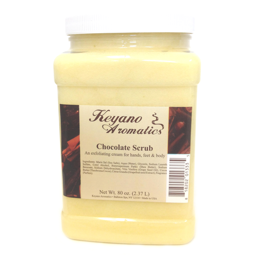 Keyano Manicure & Pedicure - Chocolate Scrub 80 oz