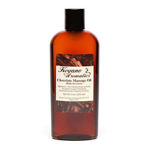 Keyano Manicure & Pedicure - Chocolate Massage Oil 8oz