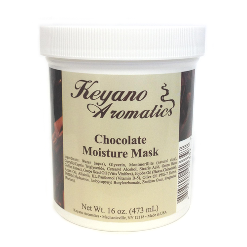 Keyano Manicure & Pedicure - Chocolate Moisture Mask 16 oz