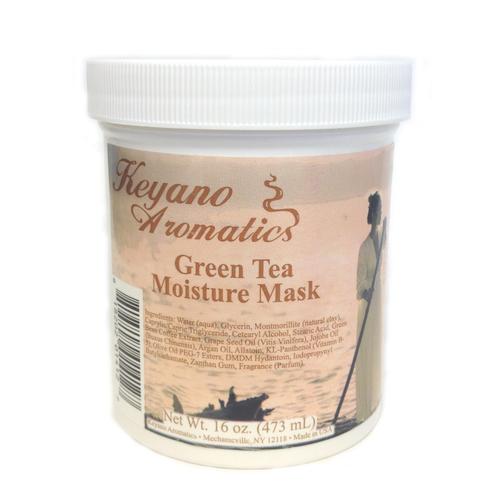 Keyano Manicure & Pedicure - Green Tea Moisture Mask 16 oz