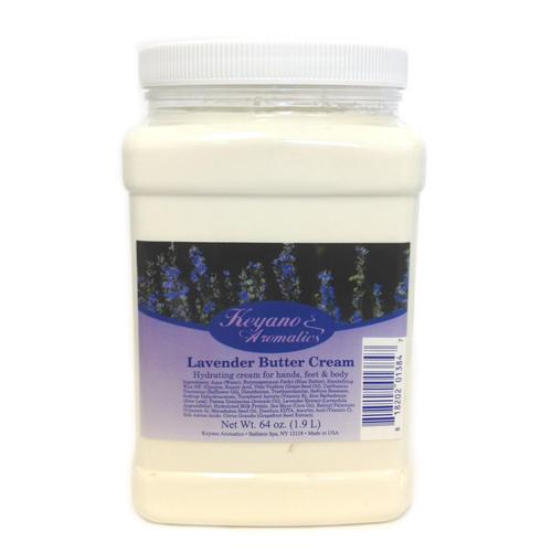 Keyano Manicure & Pedicure - Lavender Butter Cream 64 oz