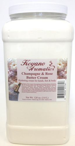Keyano Manicure & Pedicure - Champagne & Rose Butter Cream 1 Gal
