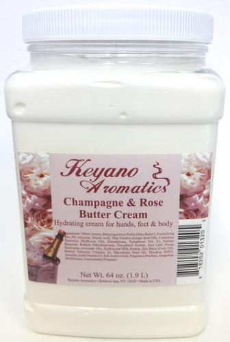 Keyano Manicure & Pedicure - Champagne & Rose  Butter Cream 64 oz