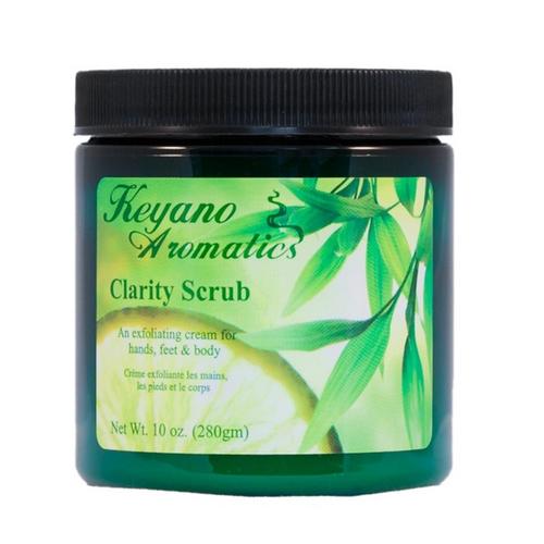 Keyano Manicure & Pedicure - Clarity Scrub 10 oz