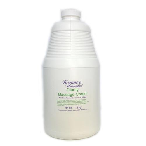 Keyano Manicure & Pedicure - Clarity Massage Cream 64 oz