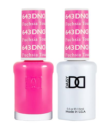 DND Duo Gel - G643 Fuchsia Touch