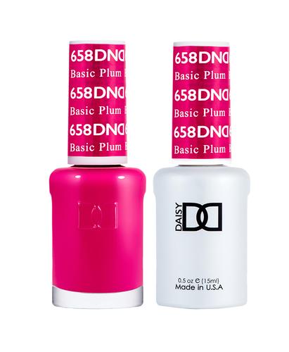 DND Duo Gel - G658 Basic Plum