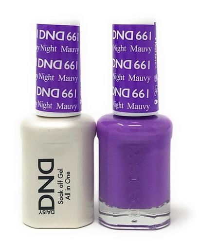 DND Duo Gel - G661 Mauvy Night