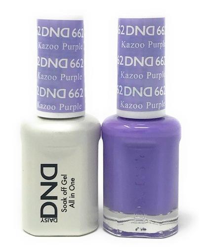 DND Duo Gel - #662 Kazoo Purple