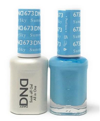 DND Duo Gel - G673 Summer Sky