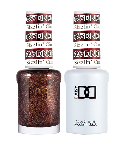 DND Duo Gel - G697 Sizzlin Cinnamon