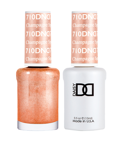 DND Duo Gel - #710 Champagne Sparkles