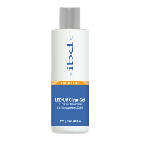 IBD Hard Gel - LED/UV Clear Gel 8oz