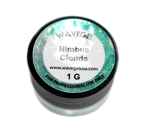 WaveGel Chrome Powder 1g - Nimbus Clouds Chrome