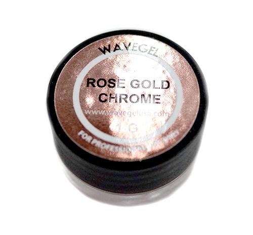 WaveGel Chrome Powder 1g - Rose Gold Chrome