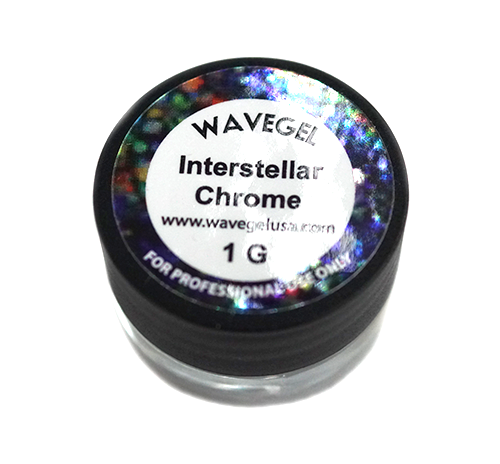 WaveGel Chrome Powder 1g - Interstellar Chrome