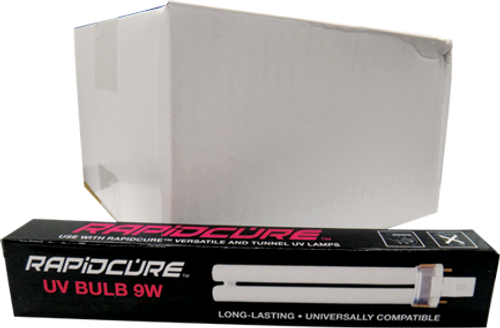 UV Light 9 watt Replacement Bulb Transformer Case/25 bulbs