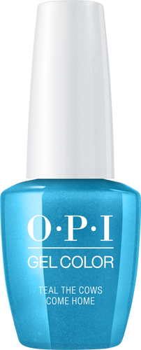 OPI GelColor - #GCB54 Teal the Cows Come Home .5 oz