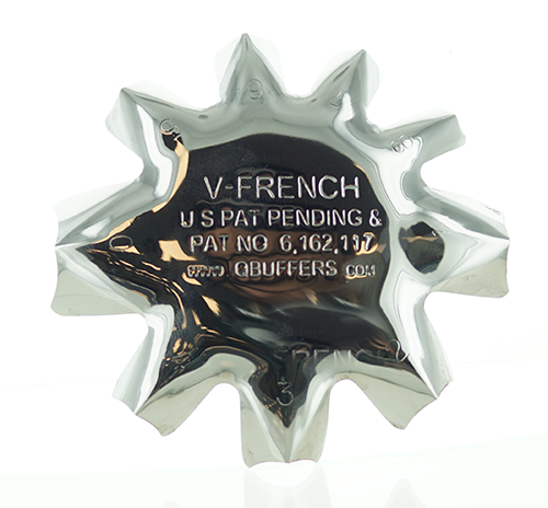 Q-Products - V-French White Cutter Poly V Tips (1 per Pack)