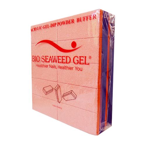 Bio Seaweed Gel - DMA Disposable Slim Buffer - Orange Purple 800/100 Grit - Pack/20pc