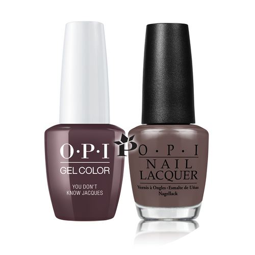 OPI Duo - GCF15A + NLF15 - YOU DON'T KNOW JACQUES .5 oz