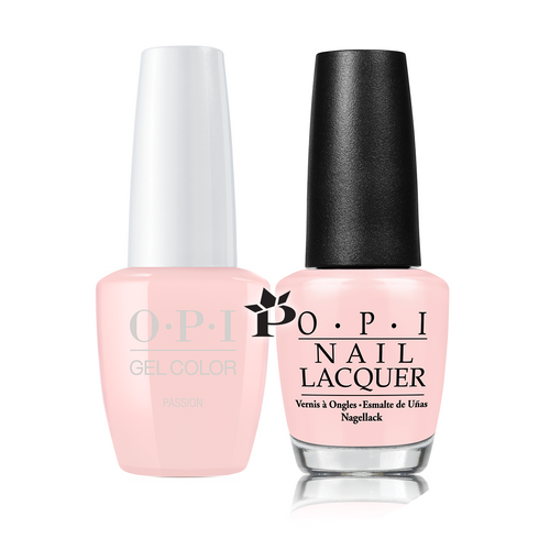 OPI Duo - GCH19A + NLH19 - PASSION .5 oz