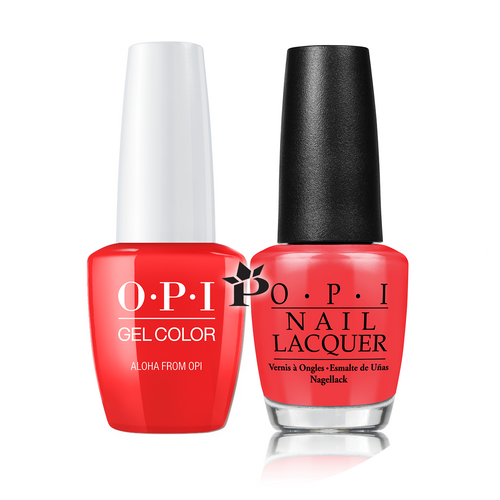 OPI Duo - GCH70A + NLH70 - ALOHA FROM OPI .5 oz