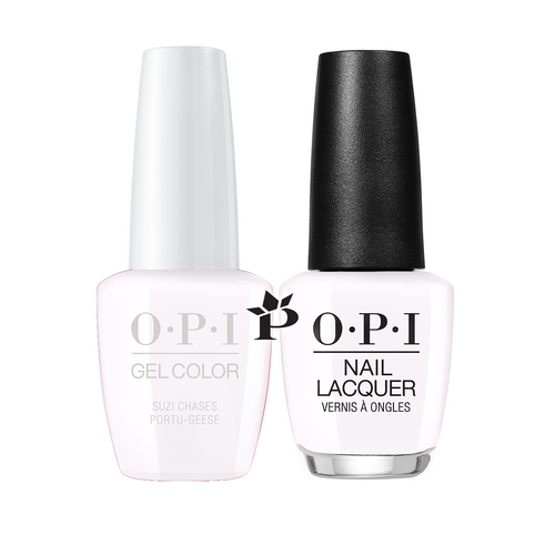 OPI Duo - GCL26 + NLL26 - SUZI CHASES PORTU-GEESE - Lisbon Collection .5 oz