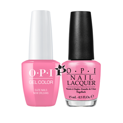 OPI Duo - GCN53A + NLN53 - SUZI NAILS NEW ORLEANS .5 oz