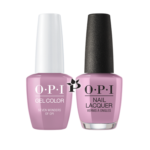 OPI Duo - GCP32 + NLP32 - SEVEN WONDERS OF OPI - Peru Collection .5 oz