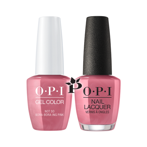 OPI Duo - GCS45 + NLS45 - NOT SO BORA-BORA-ING PINK .5 oz