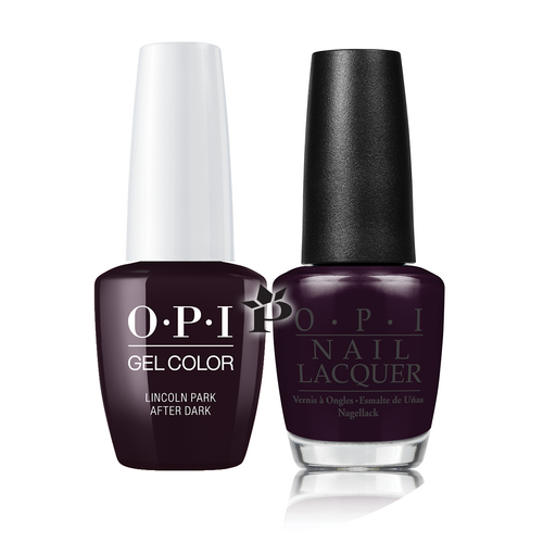 OPI Duo - GCW42A + NLW42 - LINCOLN PARK AFTER DARK .5 oz