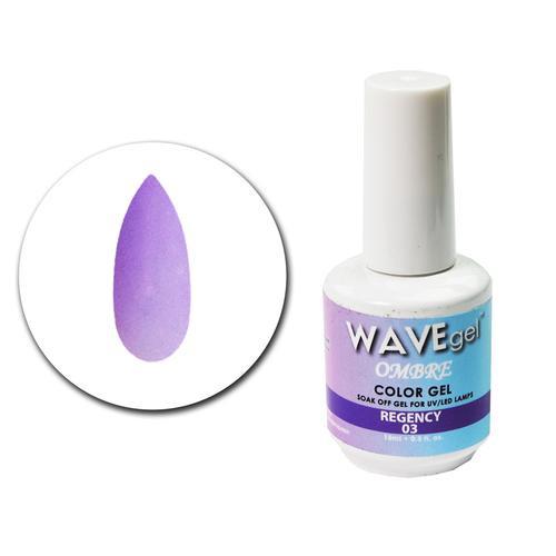 WaveGel Ombre Color Gel - #3 Regency .5 oz