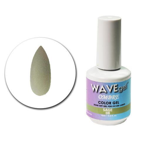 WaveGel Ombre Color Gel - #8 Sage .5 oz