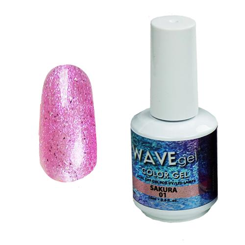 WaveGel Color Gel - #1 Sakura - Star Ocean Collection .5 oz