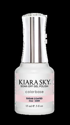 Kiara Sky Gel Polish .5 oz - #4000 Sugar Coated - Jelly Collection