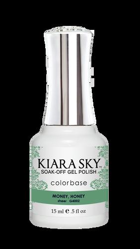 Kiara Sky Gel Polish .5 oz - #4002 Money, Honey - Jelly Collection