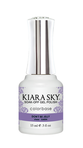 Kiara Sky Gel Polish .5 oz - #4004 Don't Be Jelly - Jelly Collection