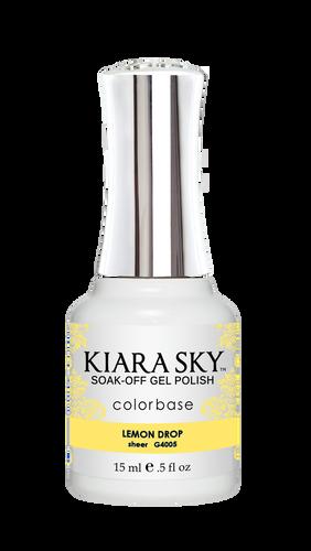 Kiara Sky Gel Polish .5 oz - #4005 Lemon Drop - Jelly Collection