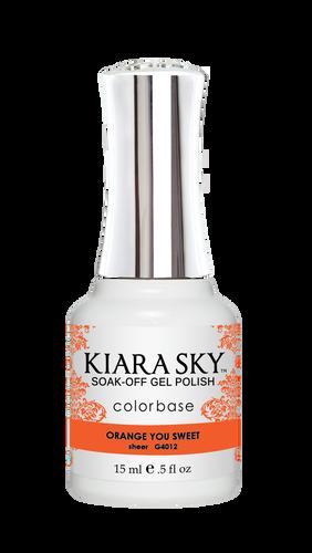Kiara Sky Gel Polish .5 oz - #4012 Orange You Sweet - Jelly Collection