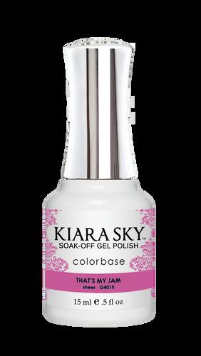 Kiara Sky Gel Polish .5 oz - #4015 That's My Jam - Jelly Collection