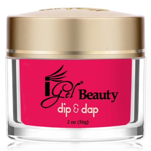 iGel Dip & Dap Powder - DD64 SHOCKING PINK 2oz
